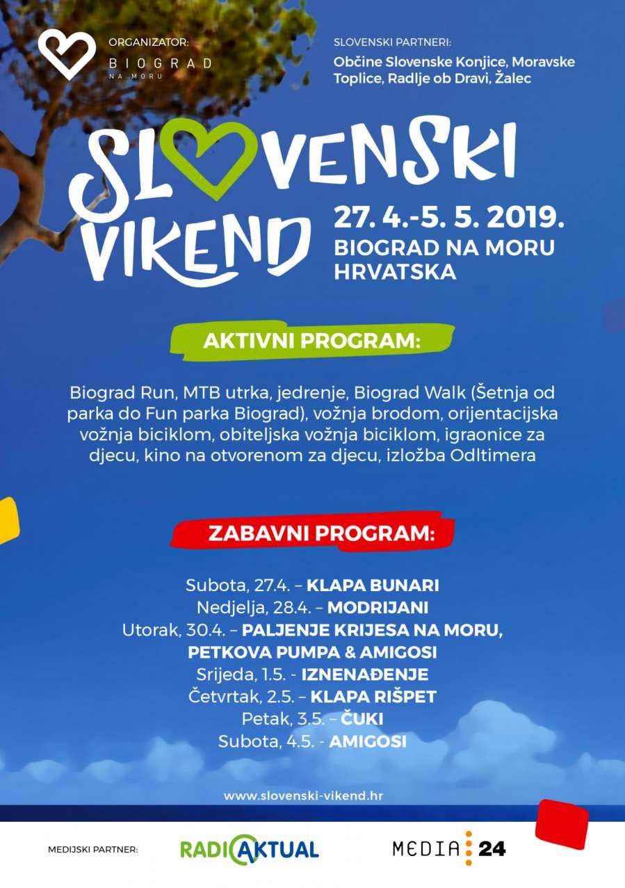 Slovenski Vikend – sudjelujte dok boravite u kampu u blizini Biograda
