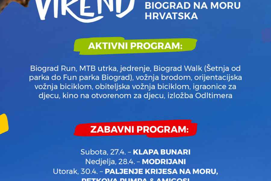 Attend Slovenian Weekend while you're located in a camp near Biograd