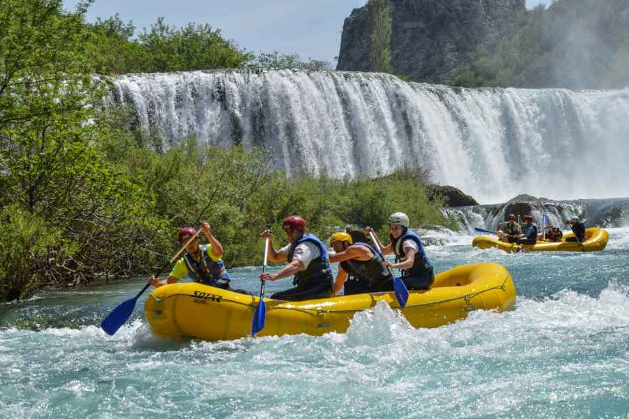 Daily trips / excursions / transfers from camp Vransko to national parks / rivers