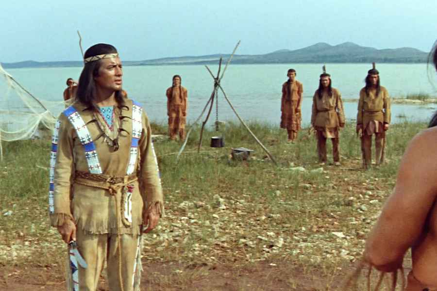 Did you know that the film Winnetou and Shatterhand in the Valley of Death was shot on Vrana Lake?