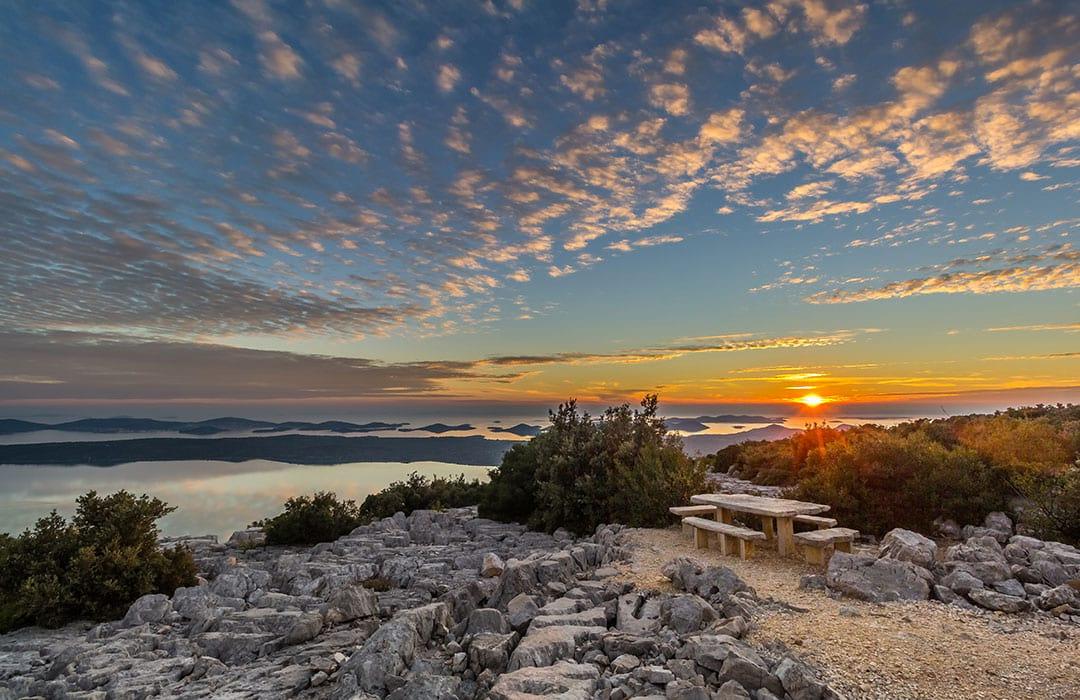 Camping Vransko jezero Crkvine Pakostane Biograd Dalmatie - camp Pakoštane